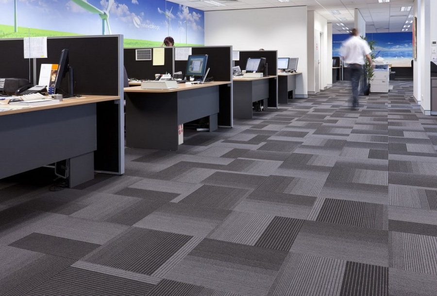 office carpet in glasgow office